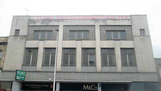 Upper Tier, Art Deco Building, Kilmarnock Road, Glasgow