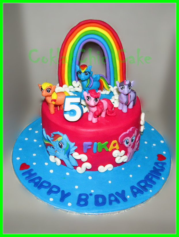 Cake My Little Pony FIKA 15 cm