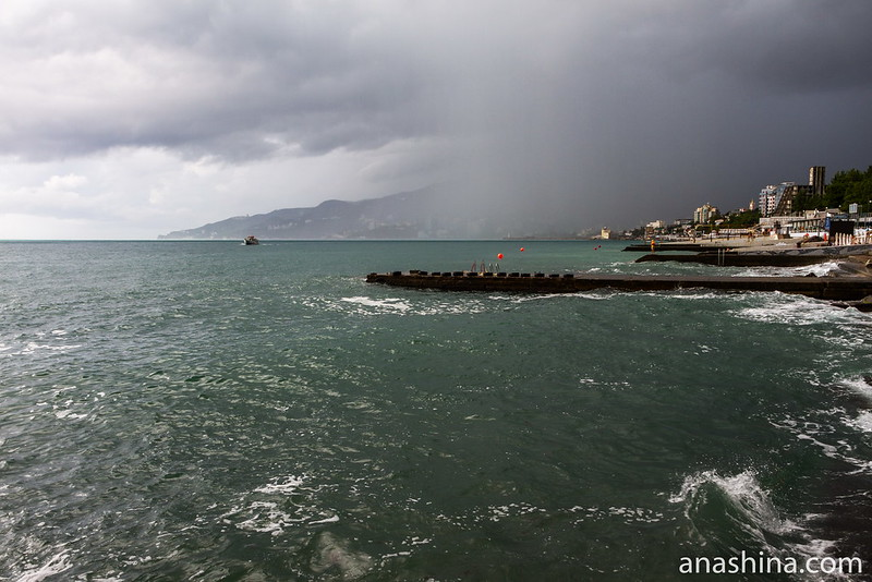 Дождь надвигается, Ялта, Крым