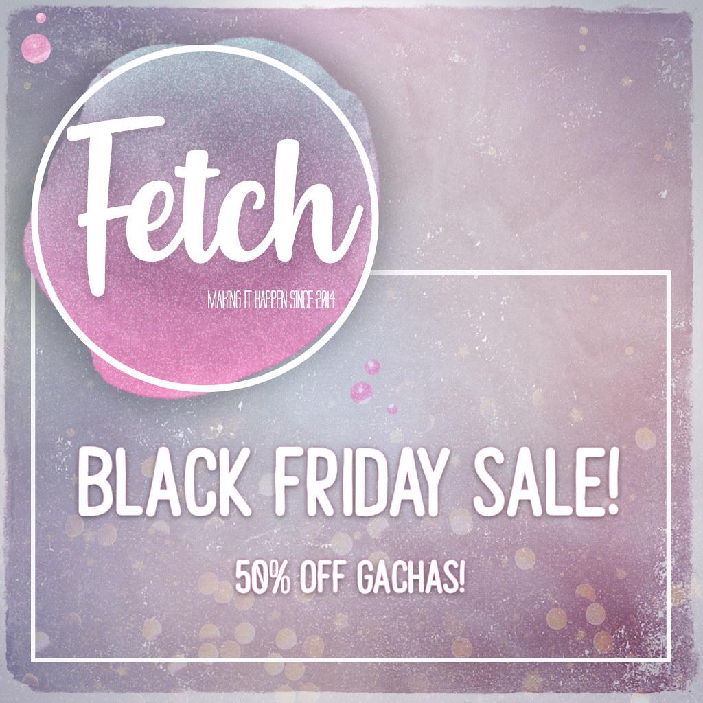 [Fetch] Black Friday Sale