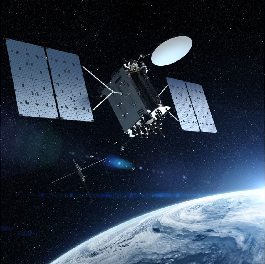 Lockheed Martin-built GPS III Follow On (GPS IIIF) Satellite