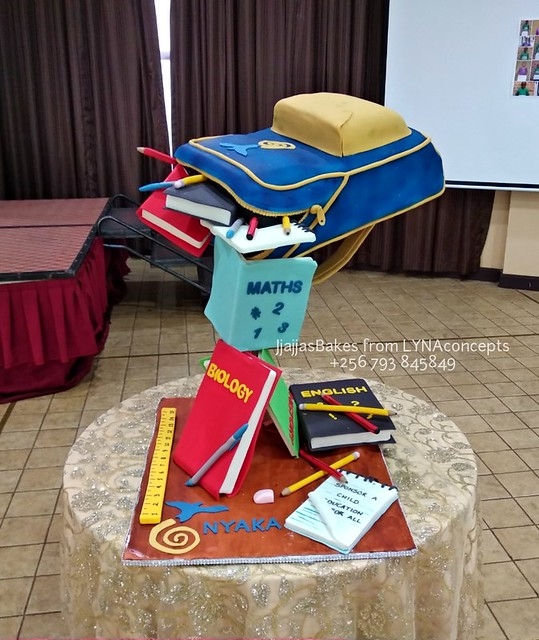 The School Bag by Lydia Nabayunga of LYNAconcepts Ltd.