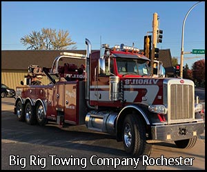 Big Rig Towing Company Rochester | Virgil's Auto Repair and Towing