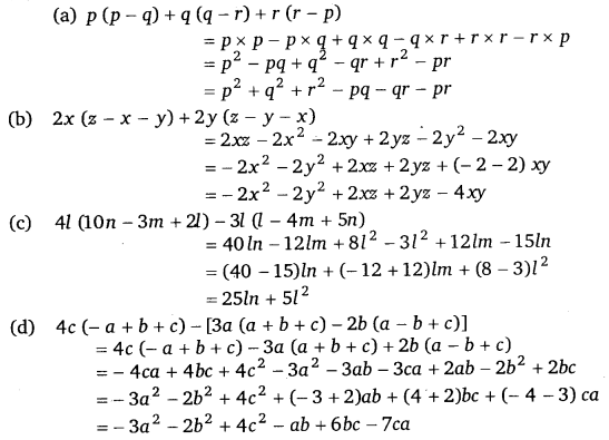 NCERT Solutions for Class 8 Maths Chapter 9 Algebraic Expressions and Identities 15