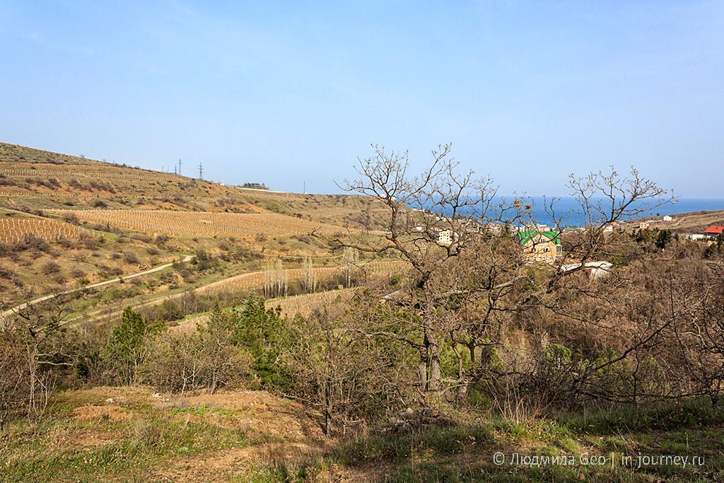 сельскохозяйственные поля в Крыму фото