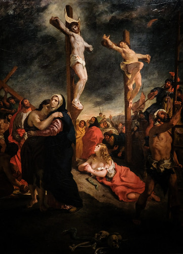 Eugène Delacroix, Christ on the Cross, 1835 10/2/18 #metmuseum #artmuseum