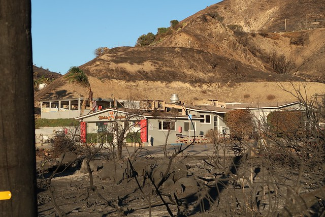 malibu seafood after the fire