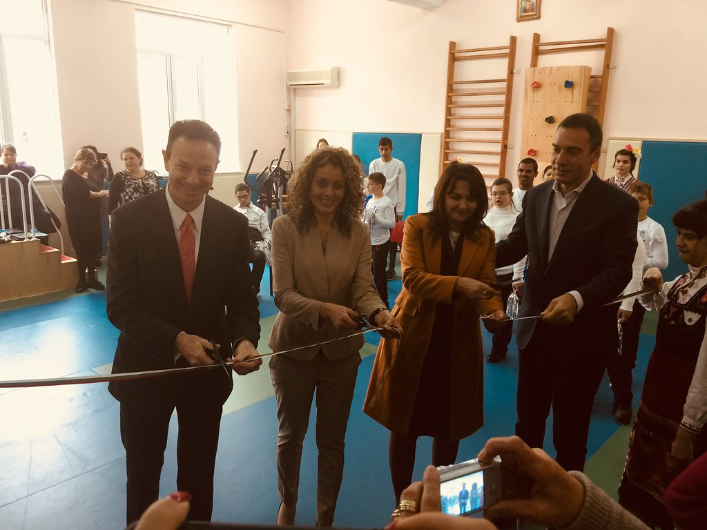 The U.S. Embassy Renovates Burgas Center for Specialized Educational Assistance