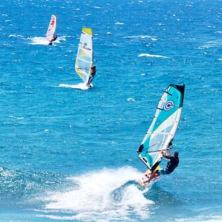 Wind Surfers, Hawaii