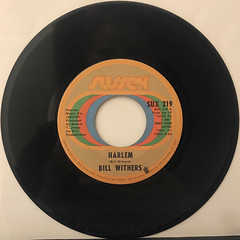 BILL WITHERS:HARLEM(RECORD SIDE-A)