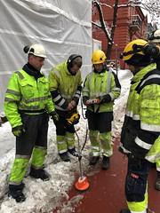 Kabelfeilsøking med Nettpartner ved Bislett i Oslo