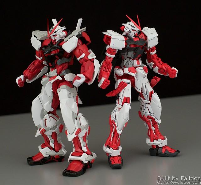 HiRM Astray Red Frame Gundam 15