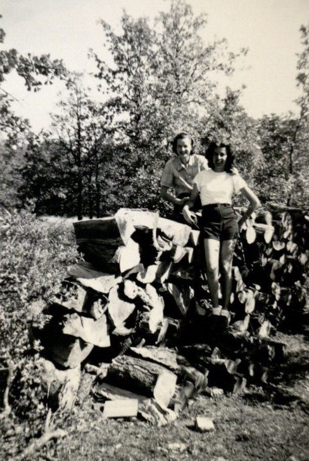 Camp counselors, undated
