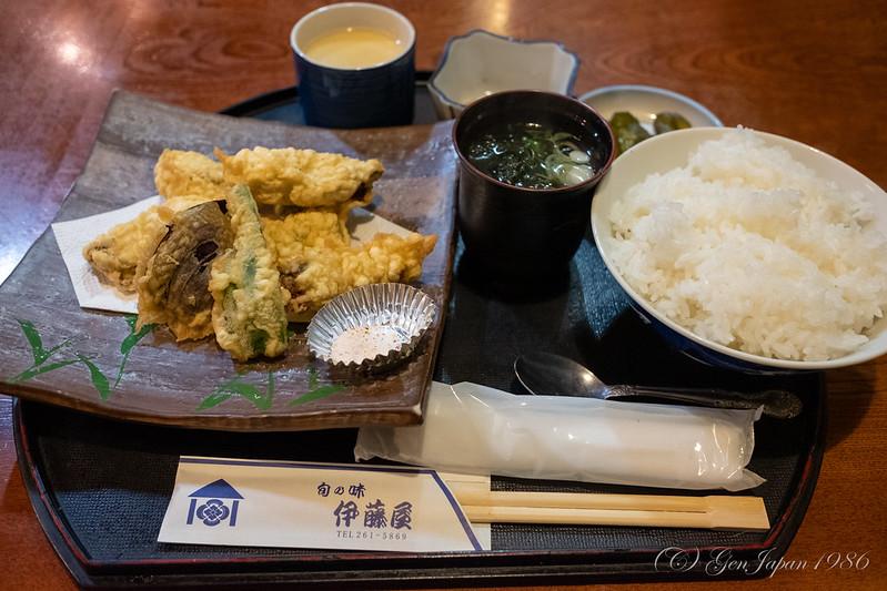 伊藤屋 かき天ぷら定食