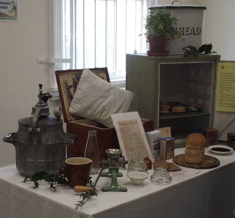 WW2 cooking display