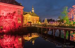 Adventsbeleuchtung im Schloss Gödens