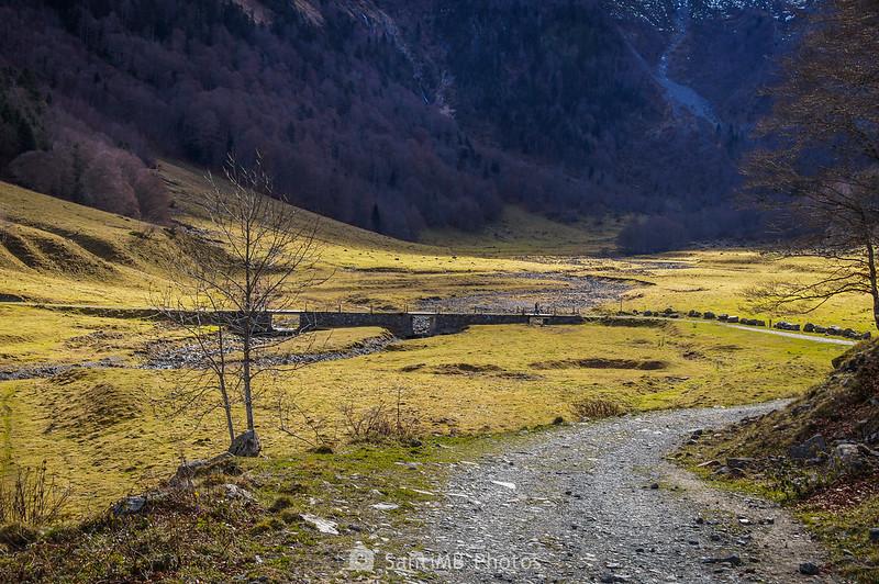 El Pònt des Garonetes sobre el río Joèu