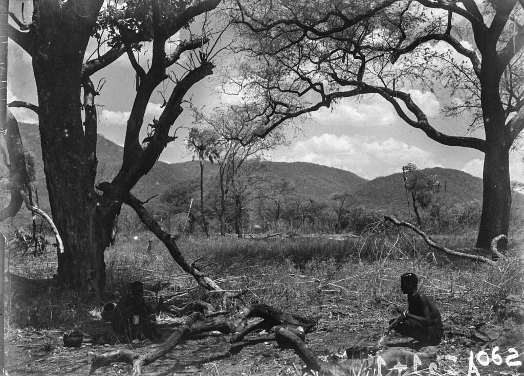 1062. Пейзаж с аборигенами
