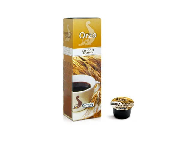 Orzo Chicco d'Oro, capsule bevande Caffitaly