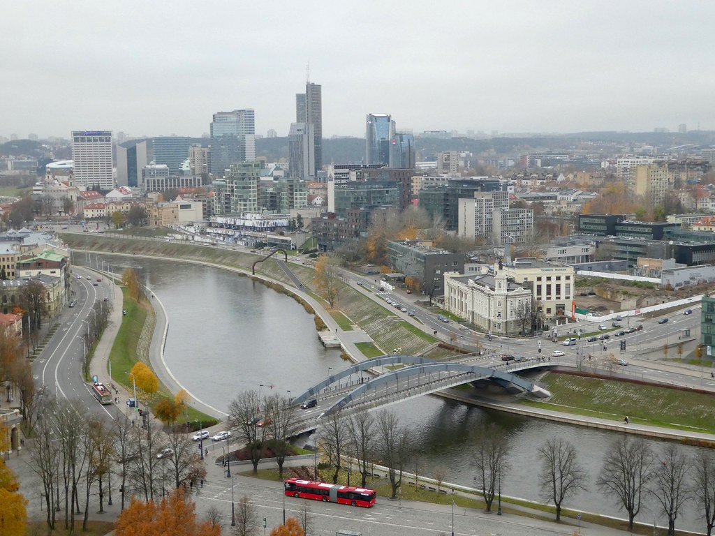 Views from Gediminas Tower, Vilnius