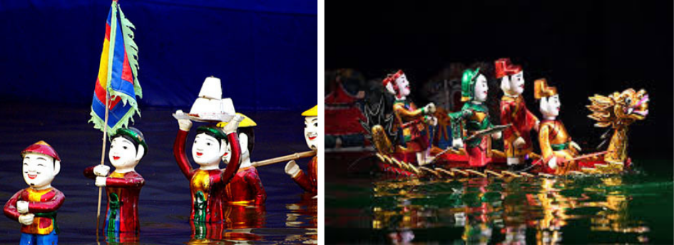 WATER PUPPET SHOW AND HANOI OPERA HOUSE