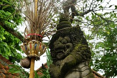 Typical Balinese temple displays