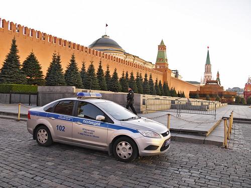 На Красной площади задержали протестовавшего против коррупции активиста