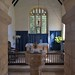 038-20180927_Great Washbourne Church-Gloucestershire-view through Chancel Arch to medieval Font, Chancel and Sanctuary