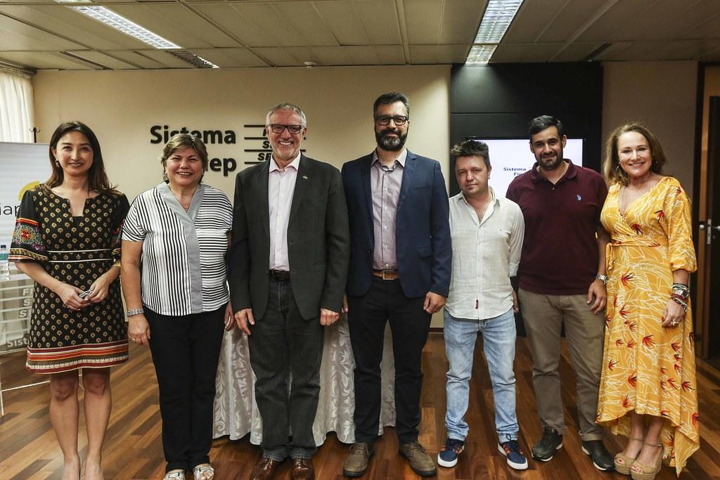 Posse Nova Diretoria do Sindicato da Indústria Audiovisual do Paraná SIAPAR