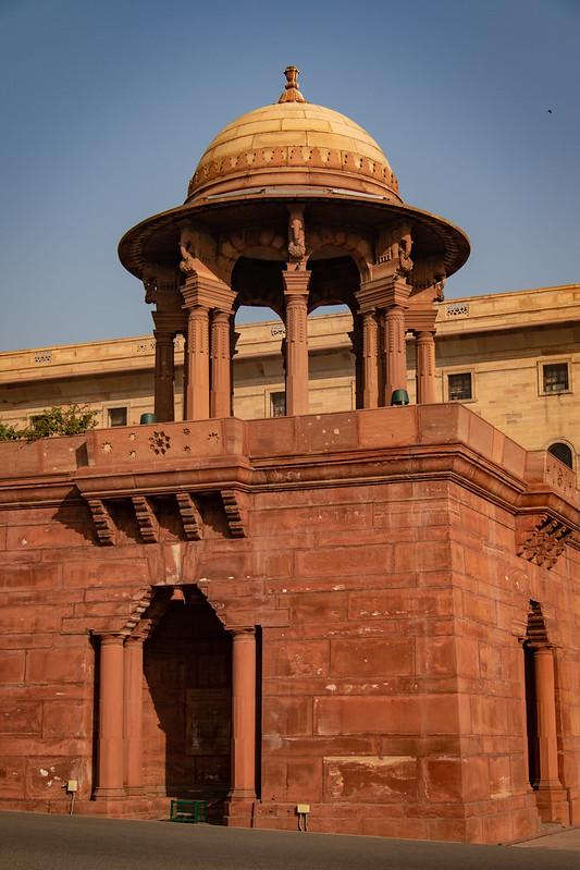 Entrance to the Secretariat