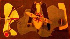 Aviation: Evolution of forms under aerodynamic limitations II (1935 - 1936) - Arshile Gorky(c.1904 - 1948)