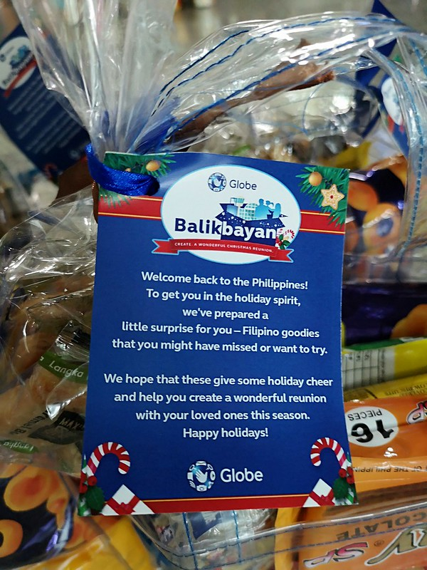 Globe Christmas Surprise Salubong of BalikBayans at the Francisco Bangoy International Airport IMG_20181218_161347
