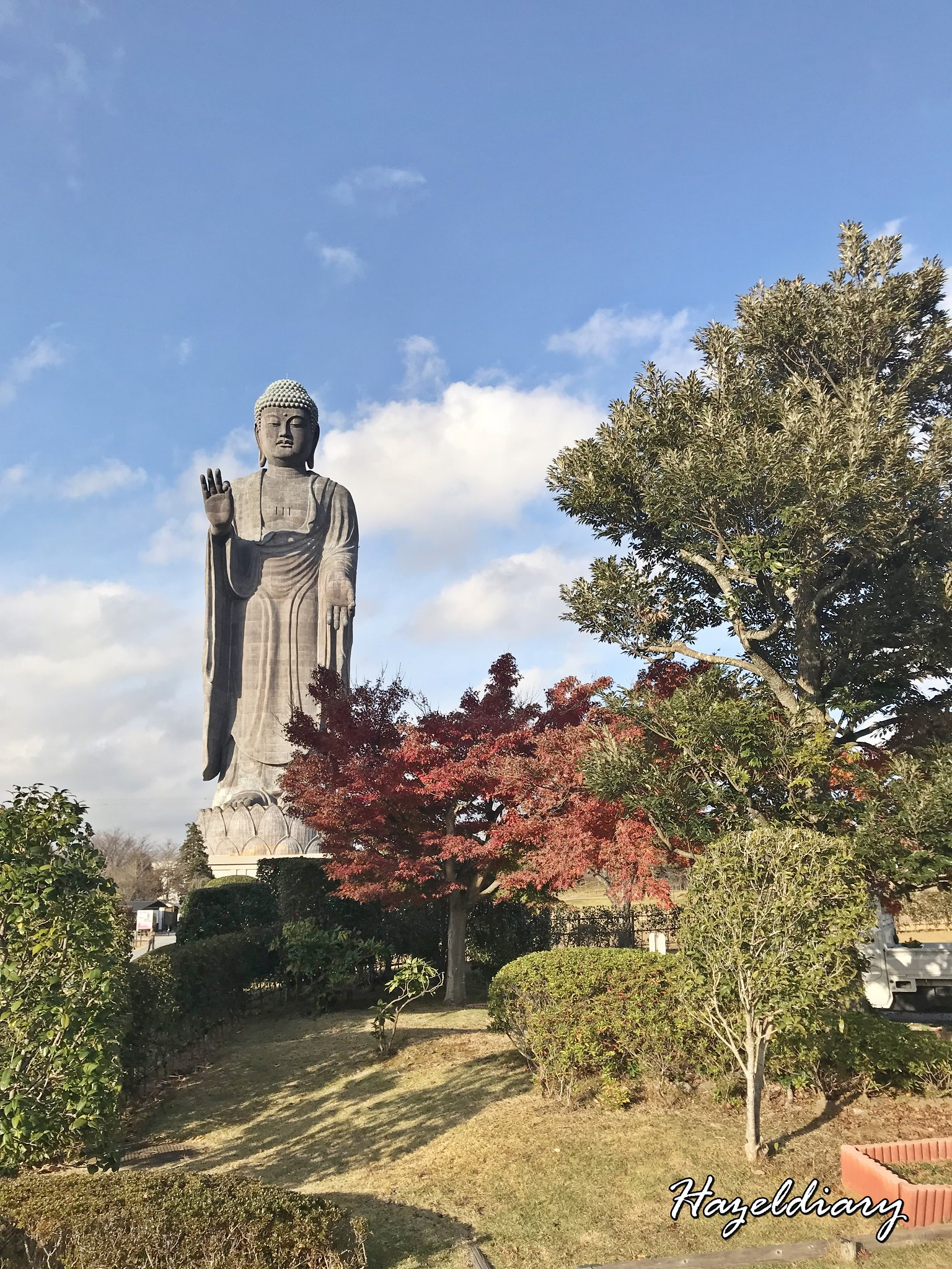 [JAPAN TRAVELS] 1 Day Trip to Ushiku Daibutsu (牛久大仏)  from Tokyo- Once Tallest Buddha Figure in Guinness Book of Records