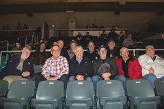 Westport Lions Club members and a large entourage of family and friends were at the Kinston Frontenacs game to see Newaboro's Nolan Seed and the Owen Sound Attack.