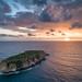 Island of west coast of the Akamas Peninsula