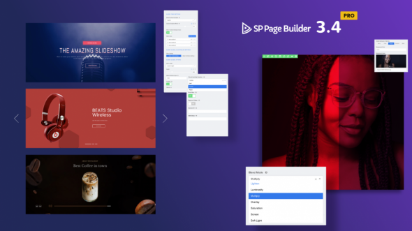 SP Page Builder Pro v3.4.0 - #1 Drag & Drop Joomla! Page Builder