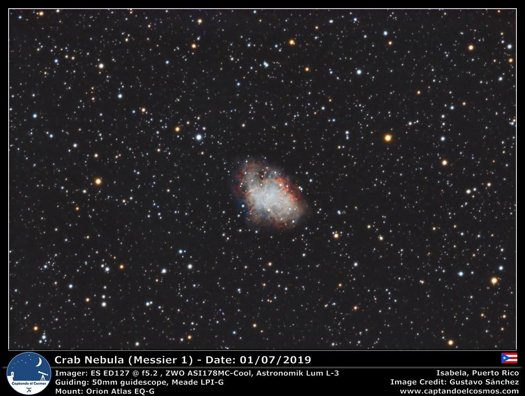 Crab Nebula (Messier 1)