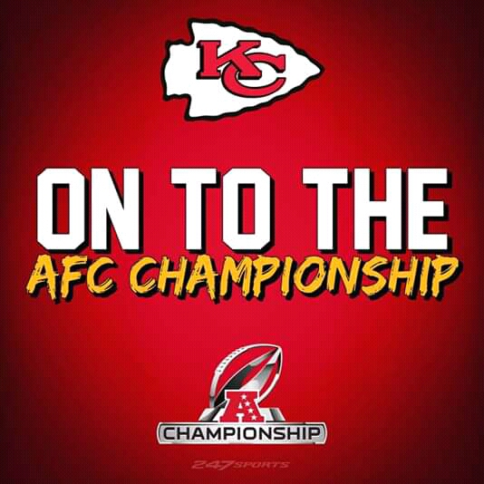 AFC Championship Game to be held January 19 or 20, 2019 at Arrowhead Stadium, Kansas City