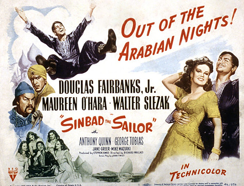 Sinbad, The Sailor - Poster 1