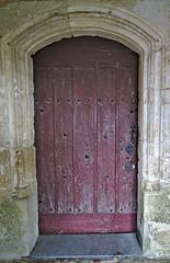 Thiré Church Door 1