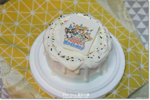 Susan老師手工冰淇淋彩虹水果蛋糕