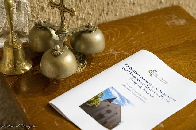 Ordination diaconale en vue du sacerdoce Marc Leroi