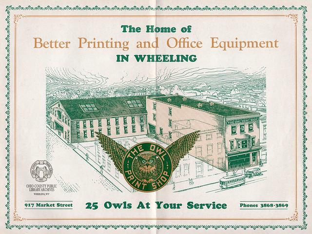 Owl Print Shop