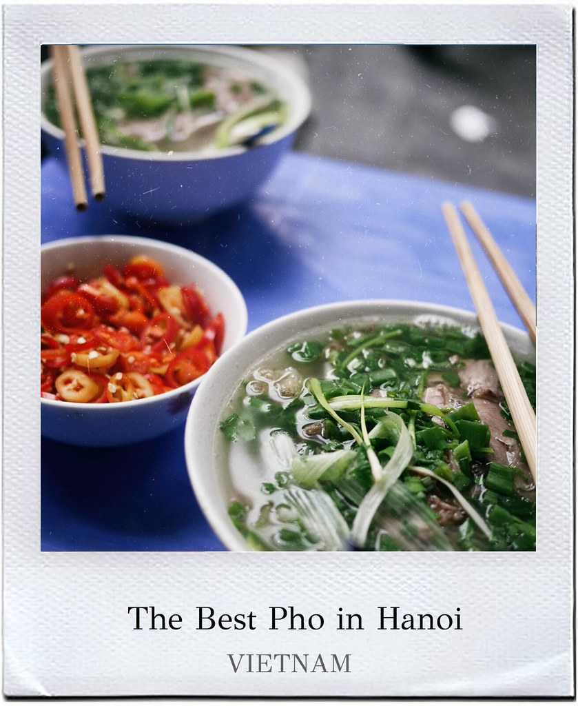 Best pho in Hanoi