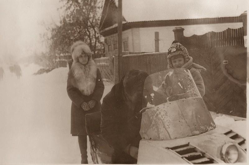 Зима 1982 года.