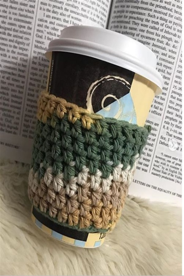 30 amazing coffee cup sleeve patterns images #coffee_cup_sleeve #coffee_sleeve