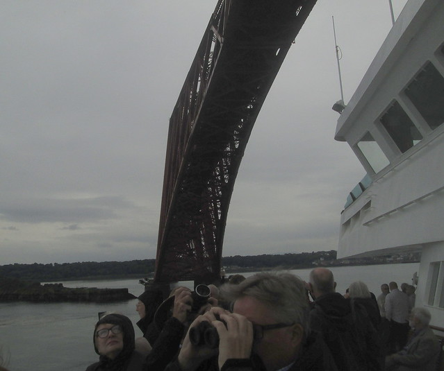 Forth Bridge From Below