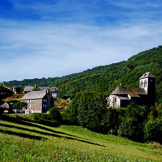 Brezons, Cantal, France