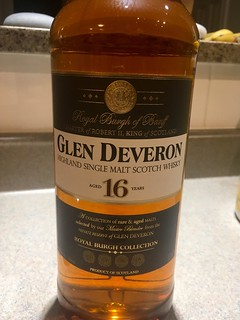 Glen Deveron scotch