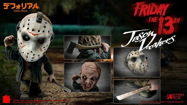 重溫水晶湖營區帶給你的恐怖夢魘!! Star Ace Toys Deform Real 系列《黑色星期五》傑森·沃爾希斯 Jason Voorhees 普通版/豪華版